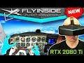 New VR Flight Sim 2018 FlyInside Flight Simulator On Pimax 8K 5K With Leap Motion Hand Tracking