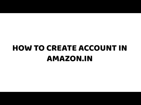 How to Create Account in Amazon.in | Easy Tutorials in Hindi