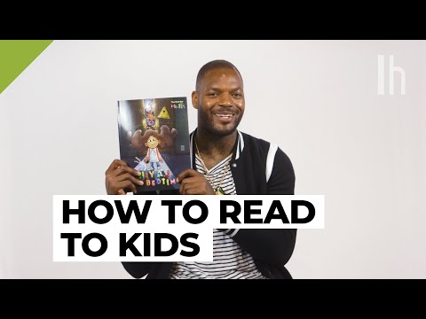 How to Read to Kids with Former NFL Player Martellus Bennett