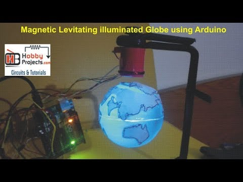 How to make a magnetic levitation globe -
