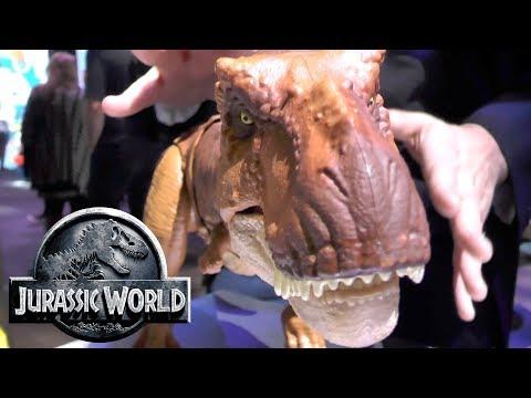 Every Jurassic World Fallen Kingdom Toy: Thrash 'N Throw Tyrannosaurus Rex