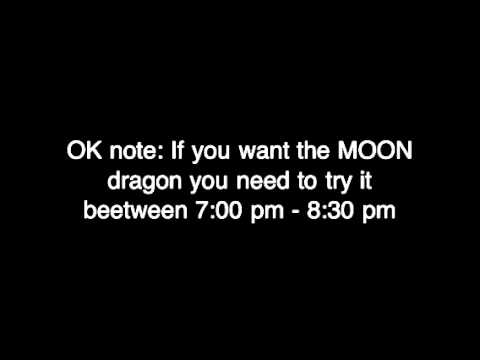 How To Breed The MOON Dragon on Dragon Vale