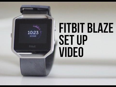 FitBit Blaze - Set Up Guide/Walkthrough using the Smartphone App