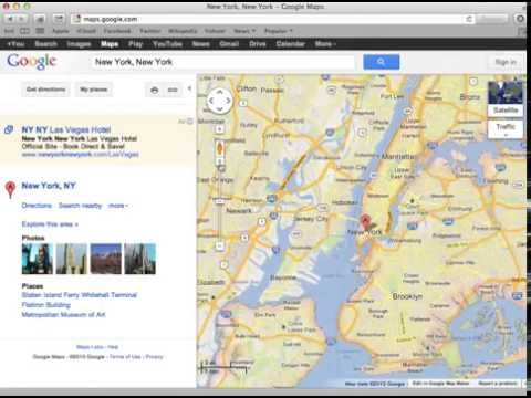 How to embed an interactive Google Map into your web page