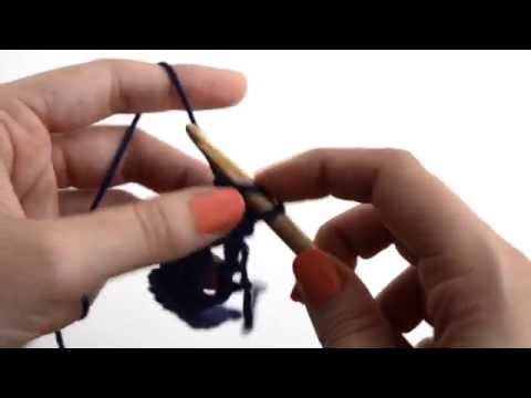 How to make the triple crochet loops stitch | We Are Knitters
