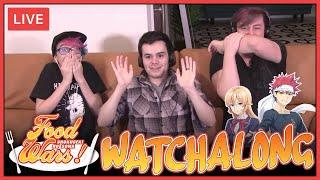Live Watchalong! Food Wars on Crunchyroll! | Thomas Sanders