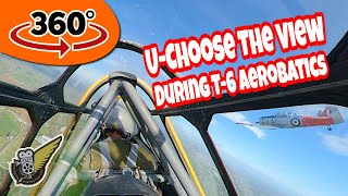 360° VR: WW2 Aeros & Tail Chase - You Choose The View
