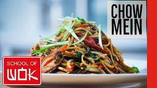 Simply Delicious Chinese Chicken Chow Mein Recipe | Wok Wednesdays