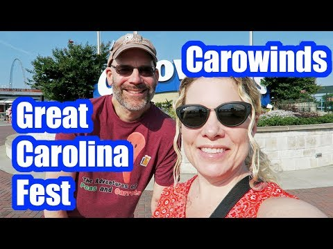 Carowinds Great Carolina Fest Opening Day 2018, Camp Snoopy & More!