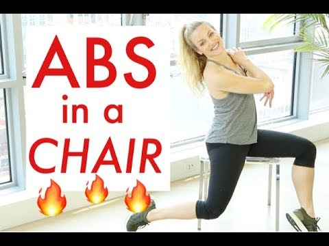 ABS USING A CHAIR | TRACY CAMPOLI | SEATED ABS
