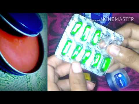 HOW TO MAKE LIPBALM At HOME/GET PINK & SOFT LIP NATURALLY/DIY/WINTER CARE/GLAM INDIAN GIRL 💖