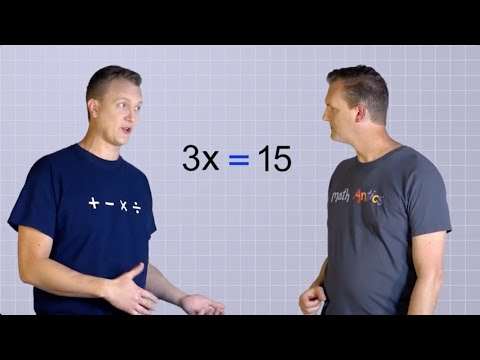 Algebra Basics: Solving Basic Equations Part 2 - Math Antics