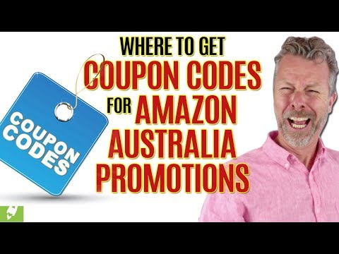 WHERE TO GET COUPON CODES FOR AMAZON AUSTRALIA PROMOTIONS