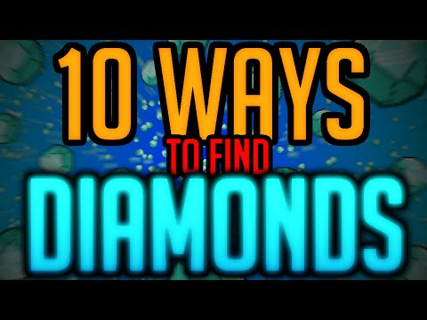 10 Ways to find Diamonds - Minecraft Machinima