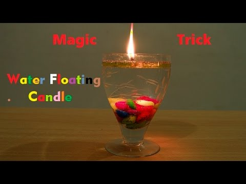 Magical Beautiful Water Floating Candle !! { Homemade }