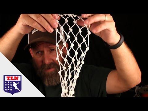 Fishing Net Lacrosse Mesh | Will it String?