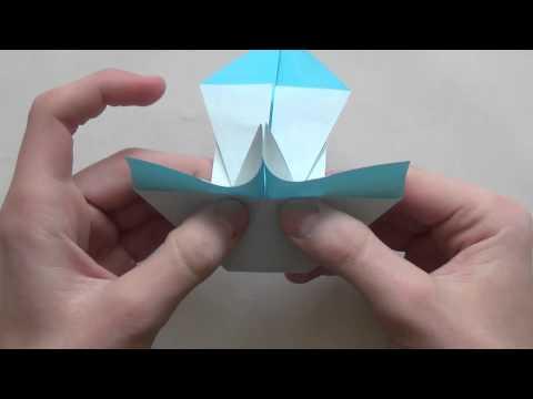 Origami Snowman by Morisue Kei/ 森末圭 (TUTORIAL)
