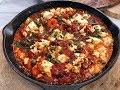 Γαρίδες Σαγανάκι με Φέτα και Μυρωδικά από τον Λάμπρο Βακιάρο