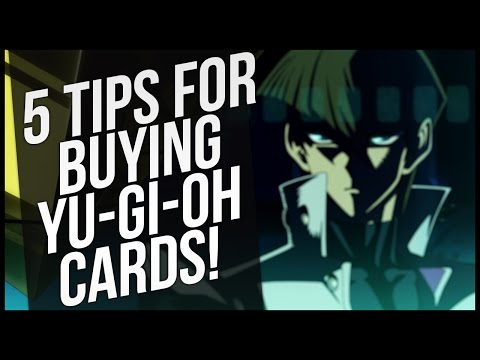 5 Tips for Buying Yu-Gi-Oh Cards!