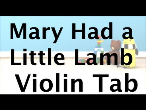 Learn Mary Had a Little Lamb on Violin - How to Play Tutorial