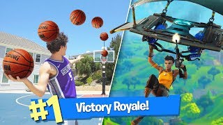 EPIC BASKETBALL FORTNITE CHALLENGES!