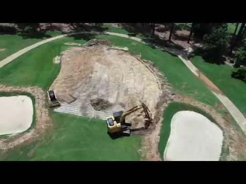 Augusta Country Club Renovation WEEK 1