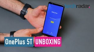 OnePlus 5T unboxing video