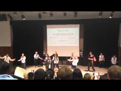 Y11 Leavers Assembly 2015 Flashmob :-)