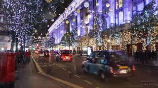 Oxford Street Christmas Lights - London - 09th Nov 2017