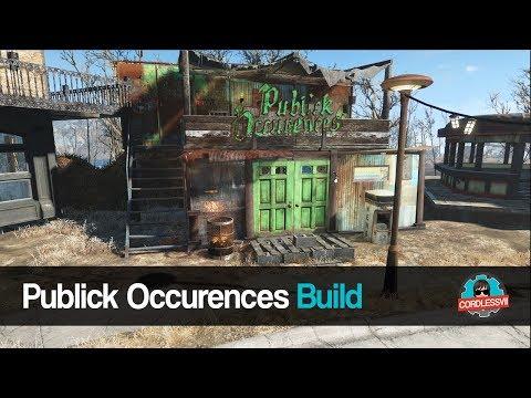 Fallout 4 | Sanctuary Public Occurence Build