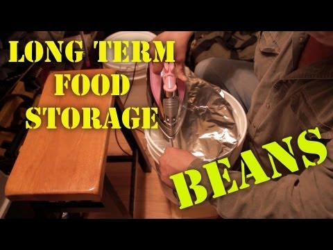 Long Term Food Storing - Beans and other.EP.003