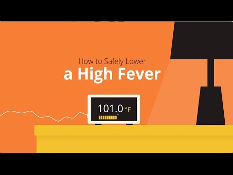 How to break a high fever quickly and safely