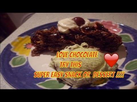 Chocolate Cornflakes Cake Recipe (NO BAKE)! quick and easy