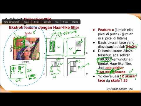 08.3 Detail Cara Kerja Viola Jones untuk Dekteksi Wajah (Deteksi Objek) - Bahasa Indonesia