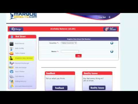 How To Use Marque Directo.com Number