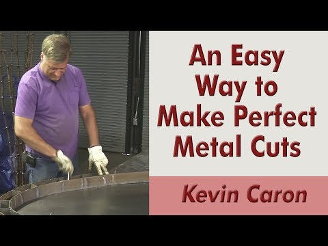 An Easy Way to Mark Your Metal for a Perfect Cut - Kevin Caron