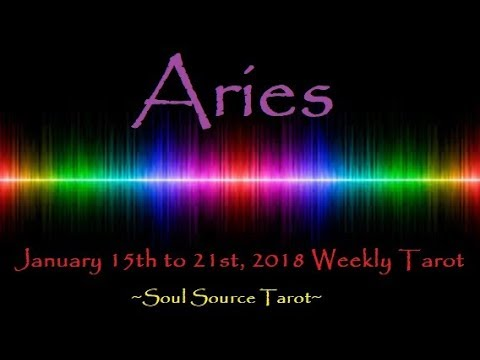 ~Aries~Removing Obstacles~January 15 to 21, 2018 Weekly Tarot Reading