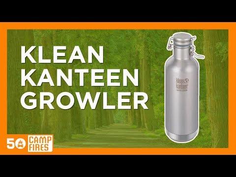 Klean Kanteen Growler - 50 Campfires