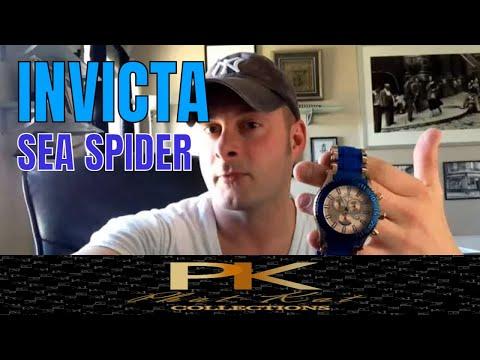 Invicta Watches : Invicta Sea Spider Watch Review