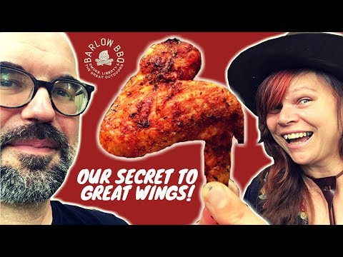 How to Smoke Chicken Wings on a Charcoal Grill | Our Secret to Crispy, Tender Hot Wings | Barlow BBQ