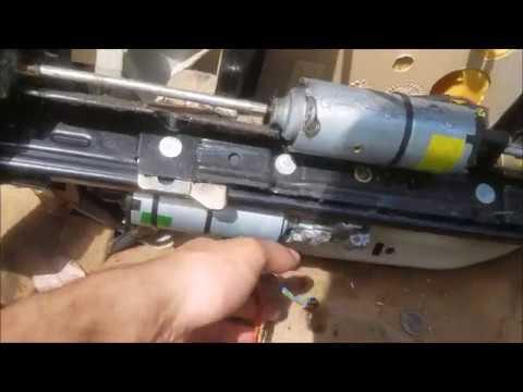 BMW E36 Recline Gear Seat Repair