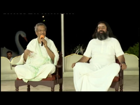 Live Satsang from Art of Living International Center, Bangalore