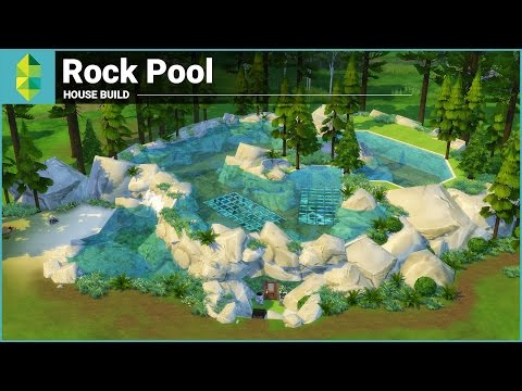 The Sims 4 House Building - Rock Pool (Underwater House)
