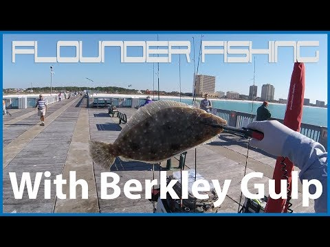 [Pier Fishing #51] Flounder fishing at Panama City Pier (Nov 03, 2017)