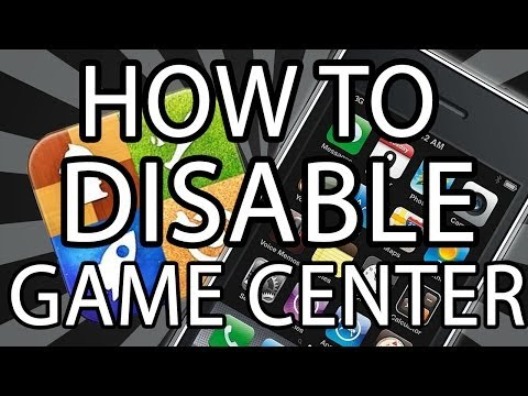 How to Disable Game Center 2014 workaround iOS iPhone 3GS iPod touch 4g