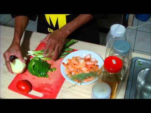 How to make curry shrimp & potatoes