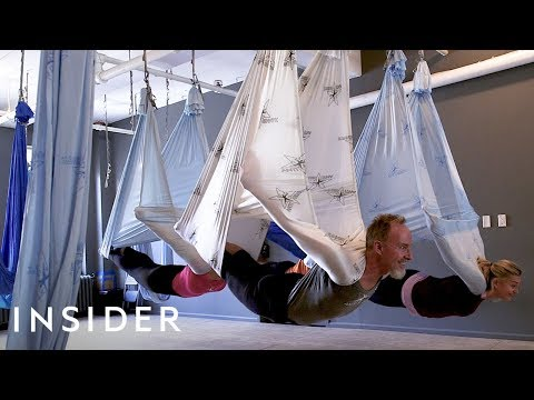 How The Anti-Gravity Fitness Trend Started
