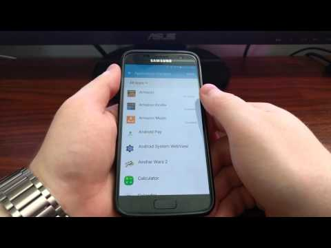 How to Disable Apps on the Galaxy S7