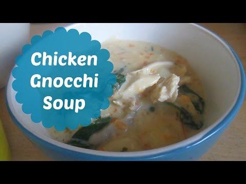 EASY CHICKEN GNOCCHI SOUP RECIPE