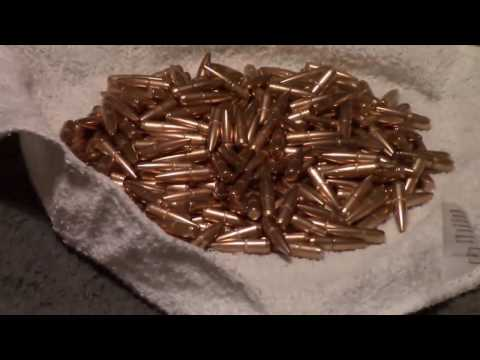 Cleaning Dirty Bullets Using Stainless Steel Media And Harbor Freight Tumbler